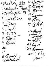20090504_Setlist_01_Handwritten.jpg