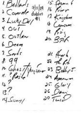 20090711_Setlist_01_Handwritten.jpg