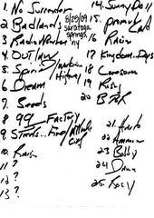 20090825_Setlist_01_Handwritten.jpg