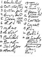 20091008_Setlist_01_Handwritten.jpg