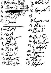 20091118_Setlist_01_Handwritten.jpg
